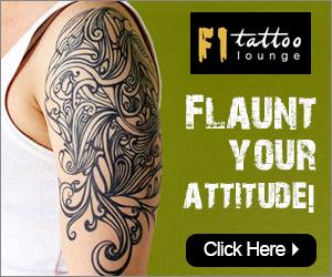 f1 Tatoo Lounge -Flaunt your attitude