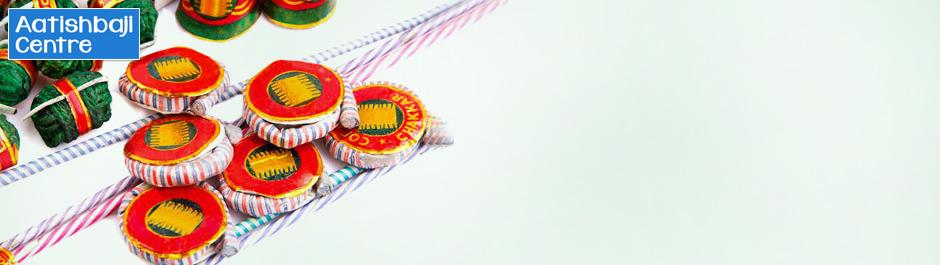 Get set for a Diwali bash! Flat 50% off on crackers