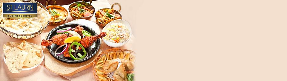 Enjoy veg & non-veg delicacies - 50% off on buffet & mocktail @ Cafe 15A - St Laurn