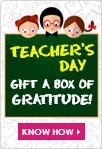 Teacher's day- Gift a box of gratitude!!!