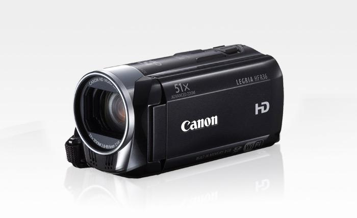 Canon camcorder (LEGRIA HF R36)