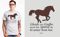 Funky Ghoda aur Gadha T-shirt