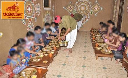 Chokhi dhani restaurant surat online deals offers for Agra fine indian cuisine menu