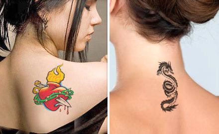 Temporary tattoo deals in mumbai
