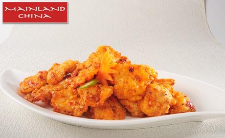 Mainland china chandigarh discount coupons