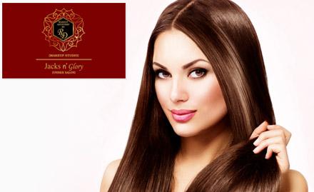 Jacks N Glory- Makeup Artistrry by RD deal
