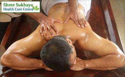 Get rid of stress with Ayurvedic Body Massage, Shirodhara, Steam Bath & more at Rs749