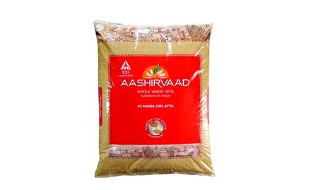 Get Rs 40 cashback on Aashirvaad Atta - 10 kg