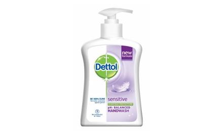 Get Rs 12 cashback on Dettol Sensitive Handwash - 215 gm