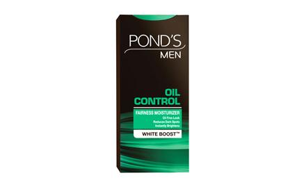 Get Rs 15 cashback on Ponds Men Oil Control Fairness Moisturizer - 20 gm