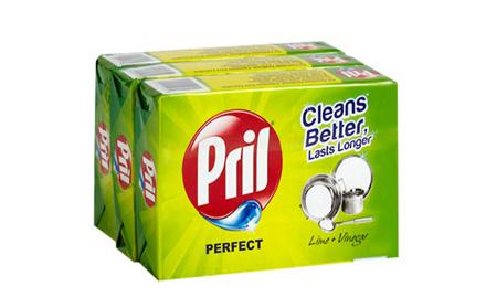 Get Rs 15 cashback on Pril Dishwash Bar (Pack of 3) - 400 gm