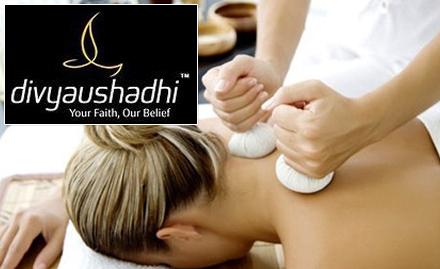 55% off on Ayurvedic treatment like kizhi, shirodhara and abhyangam!