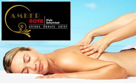 30% off on full body massage. Get Swedish, deep tissue, aromatic or ayurvedic massage!