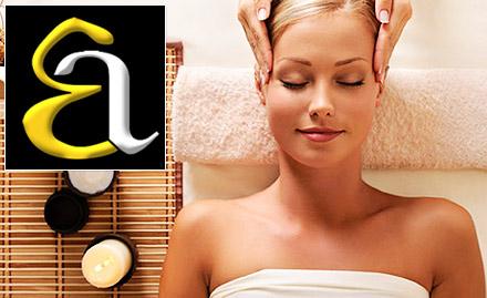 65% off on wellness package. Get head massage, neck massage, back massage & more!