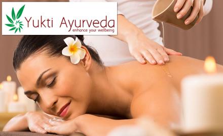 30% off on spa packages. Get shirodhara, abhyanga, nasya, facial and more!