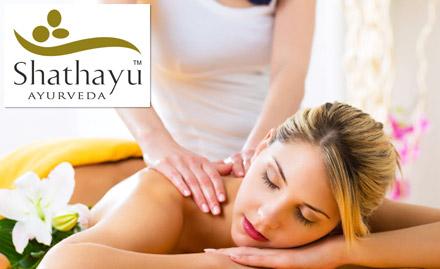 1419 for full body massage. Get head massage, back massage, foot massage and more!