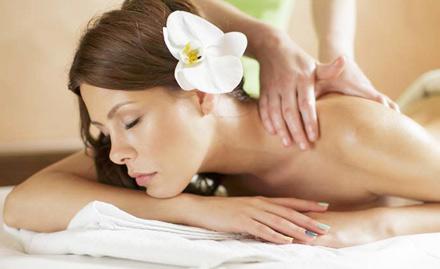 50% off on facial, aroma massage, deep tissue massage, Balinese massage and more!