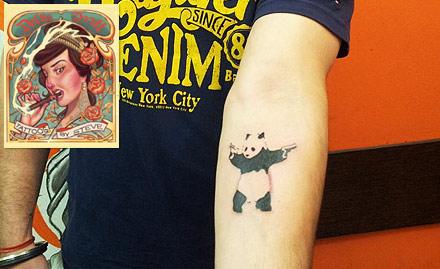 Delhi Ink Tattoos By Steve deal