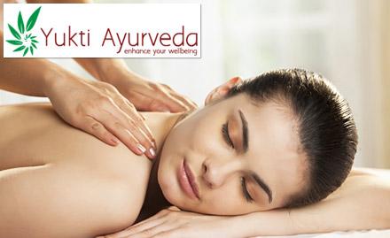 35% off! Get abhyangam, shirodhara, facial, full body massage and more!