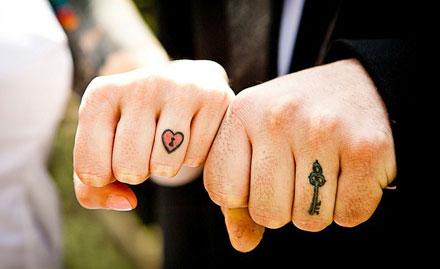 1st sq inch permanent tattoo worth Rs 1000 free