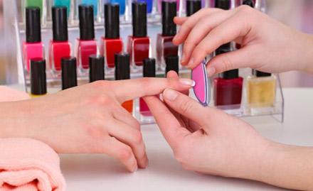 40% off! Get nail spa, manicure, nail extension, nail art and more!