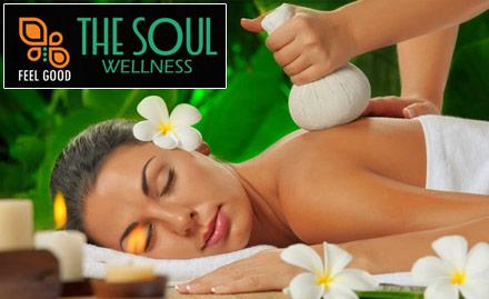 35% off on Swedish Massage, Thai Massage and more!