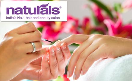 Classic spa manicure free with Organic spa pedicure