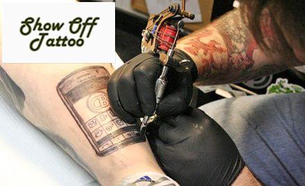 55% off on permanent tattoo