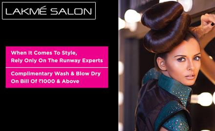 Lakme salon discount coupons