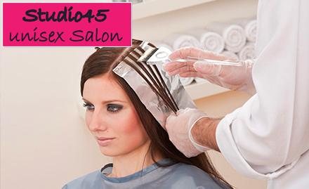Studio 45 Unisex Salon deal