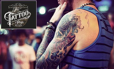 50% off on permanent tattoo