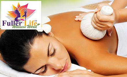 Full body scrub & massage for Rs 1180. Revive, Renew, Rejuvenate!
