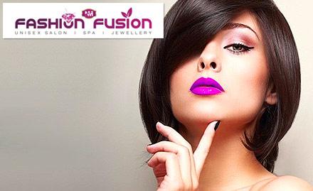 40% off on hair rebonding & global hair colour