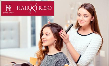 Hair care services starting at Rs 100. Get haircut, hair spa, hair wash & more!