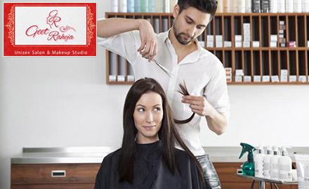 Geet Raheja Unisex Salon & Makeup Studio deal