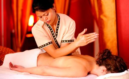 Upto 65% off on full body massage, head massage, foot reflexology & more!