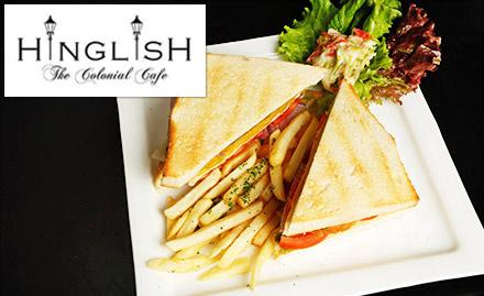 Hinglish - Cafe Beach Bar deal