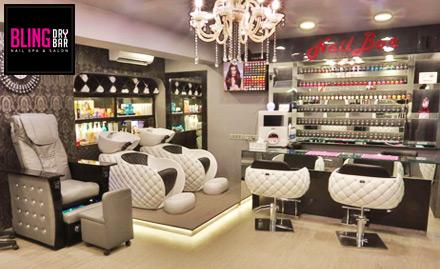 Bling Dry Bar Nail Spa And Salon deal