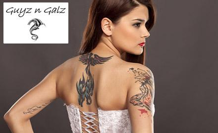 Guyz N Galz Tattooz Studio deal