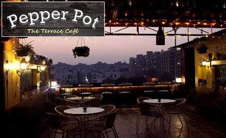 Pepper Pot - The Terrace Cafe deal