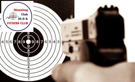 Shooting Club 10.9 & Fitness Club deal