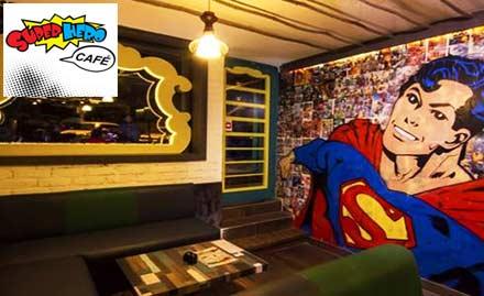 SuperHero Cafe deal