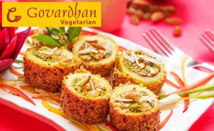 Govardhan Vegetarian deal