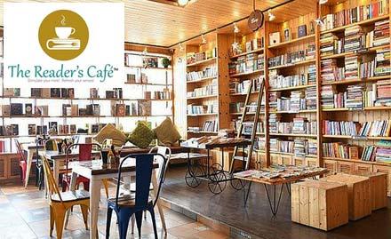 The Reader\'s Cafe deal