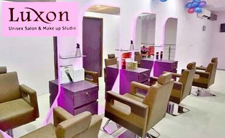 Luxon Unisex Salon & Makeup Studio deal