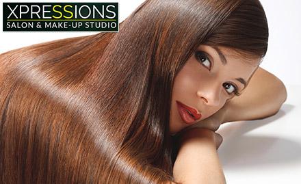 Rs 2999 for L\'Oreal Xtenso-Moisturist hair rebonding for 100% straight & shiny hair!