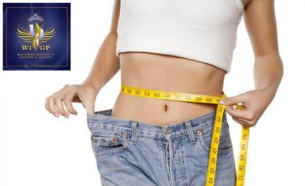 Non Surgical Tummy tightener lose Upto 10 Kg in 2999 At WIGP Unisex Clinic & salon