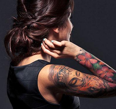 80% off on permanent tattoo @ F1 Tattoo Lounge